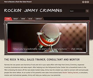 Jimmy Crimmins website - rockinsales.com
